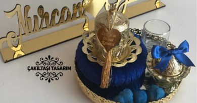 Çakıltaşı Tasarım - Damat fincanı mavi