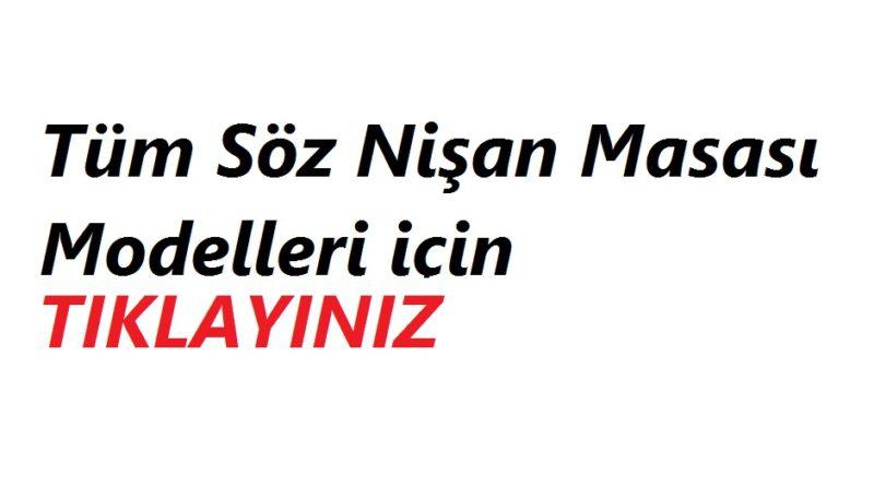 SOZ-NISAN-MASASI